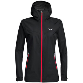 SALEWA Puez Aqua 3 Powertex Chaqueta Mujer, black out